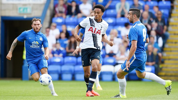 Unlike most of their preseason matches in the UK, Tottenham's friendly at Peterborough was open to the public.