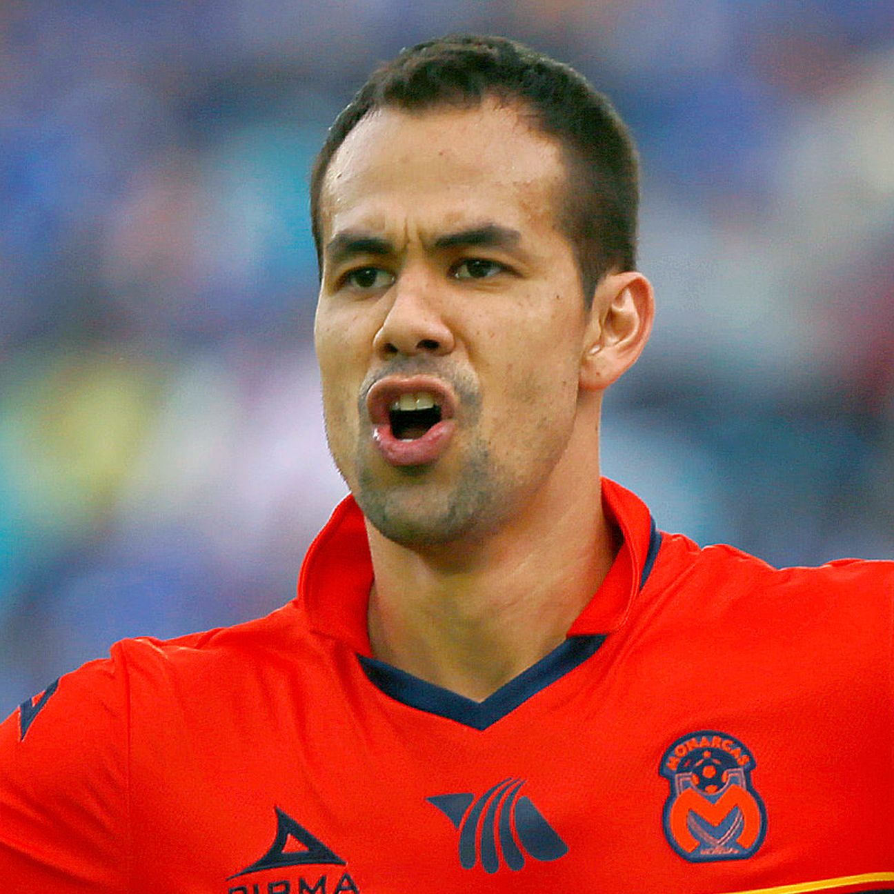 Pablo Velazquez led the way for Morelia in their surprising 3-0 win at Cruz Azul.