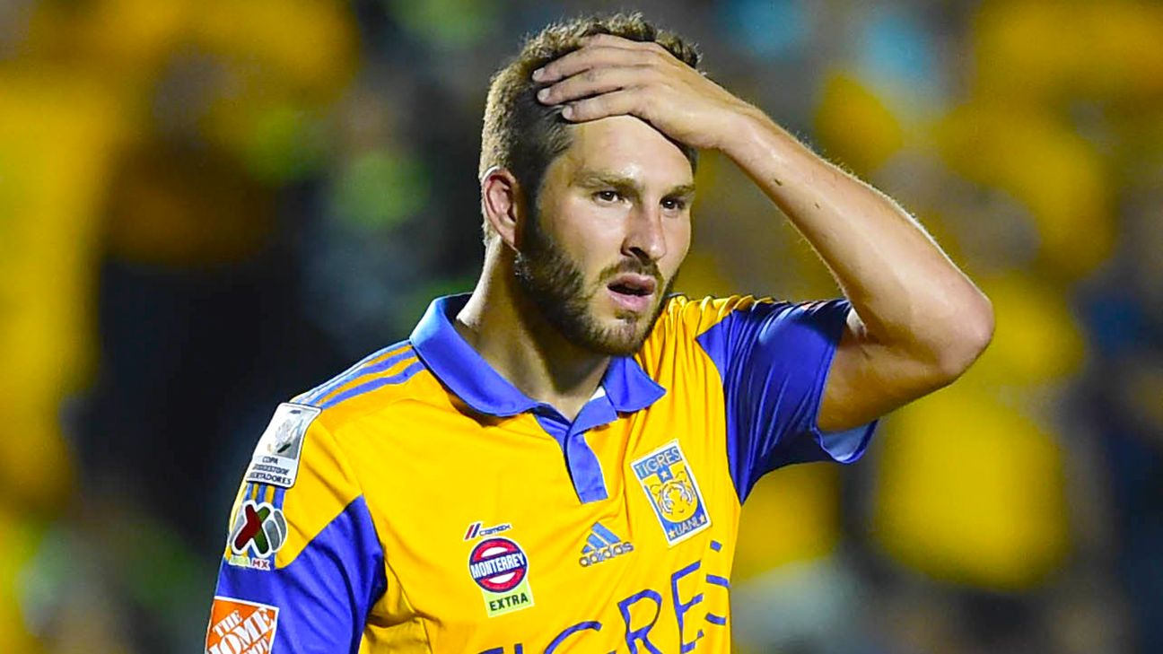 Andre-Pierre Gignac and Tigres are suffering from a Copa Libertadores hangover in Liga MX.