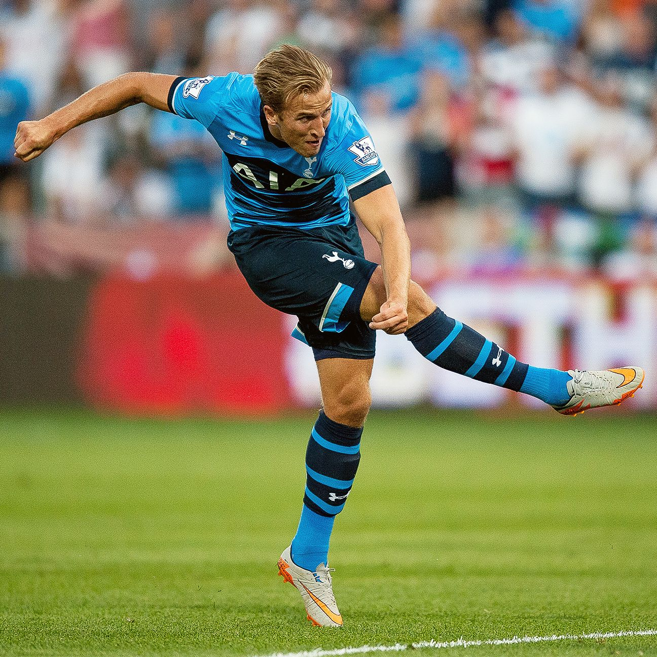 Harry Kane looked in mid-season form in Tottenham's 2-1 defeat to the MLS All-Stars.
