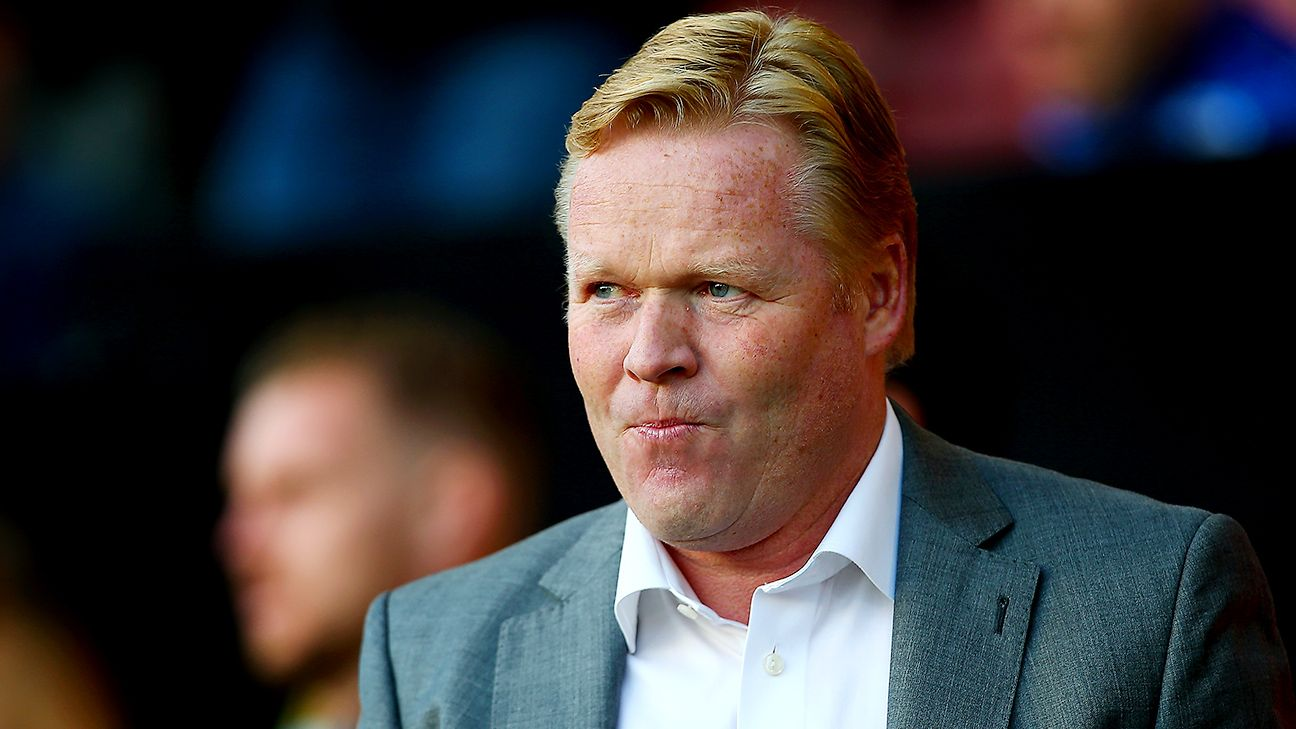 Ronald Koeman's Southampton currently sit ninth in the Premier League table.