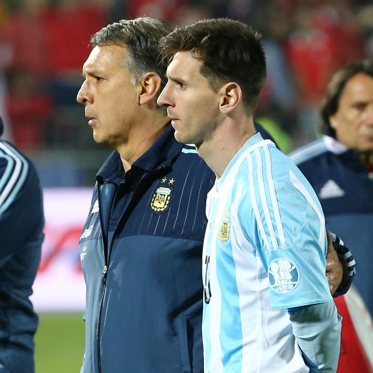 Gerardo Martino and Lionel Messi worked together for Argentina and Barcelona.