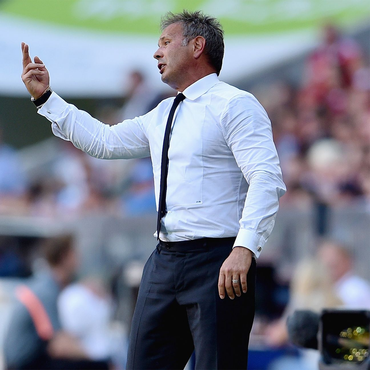 The heat is on manager Sinisa Mihajlovic to turn things around at Milan.