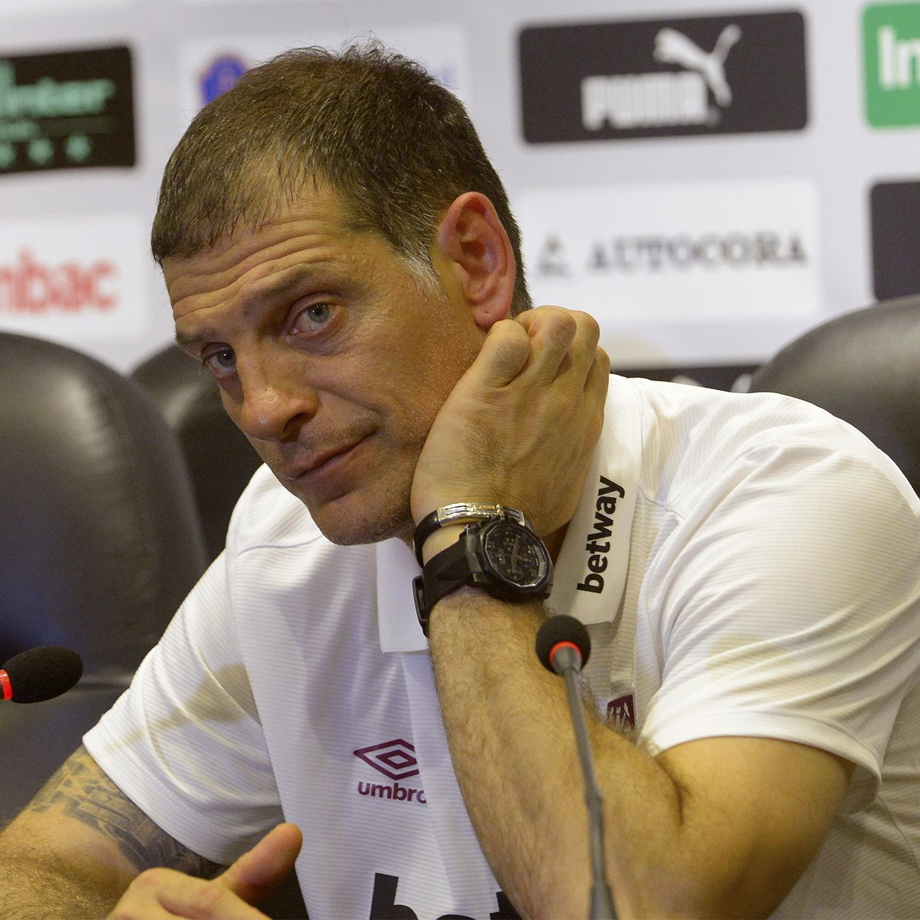 Even with Dimitri Payet returning, West Ham manager Slaven Bilic must still contend with a number of key absences against Man City.