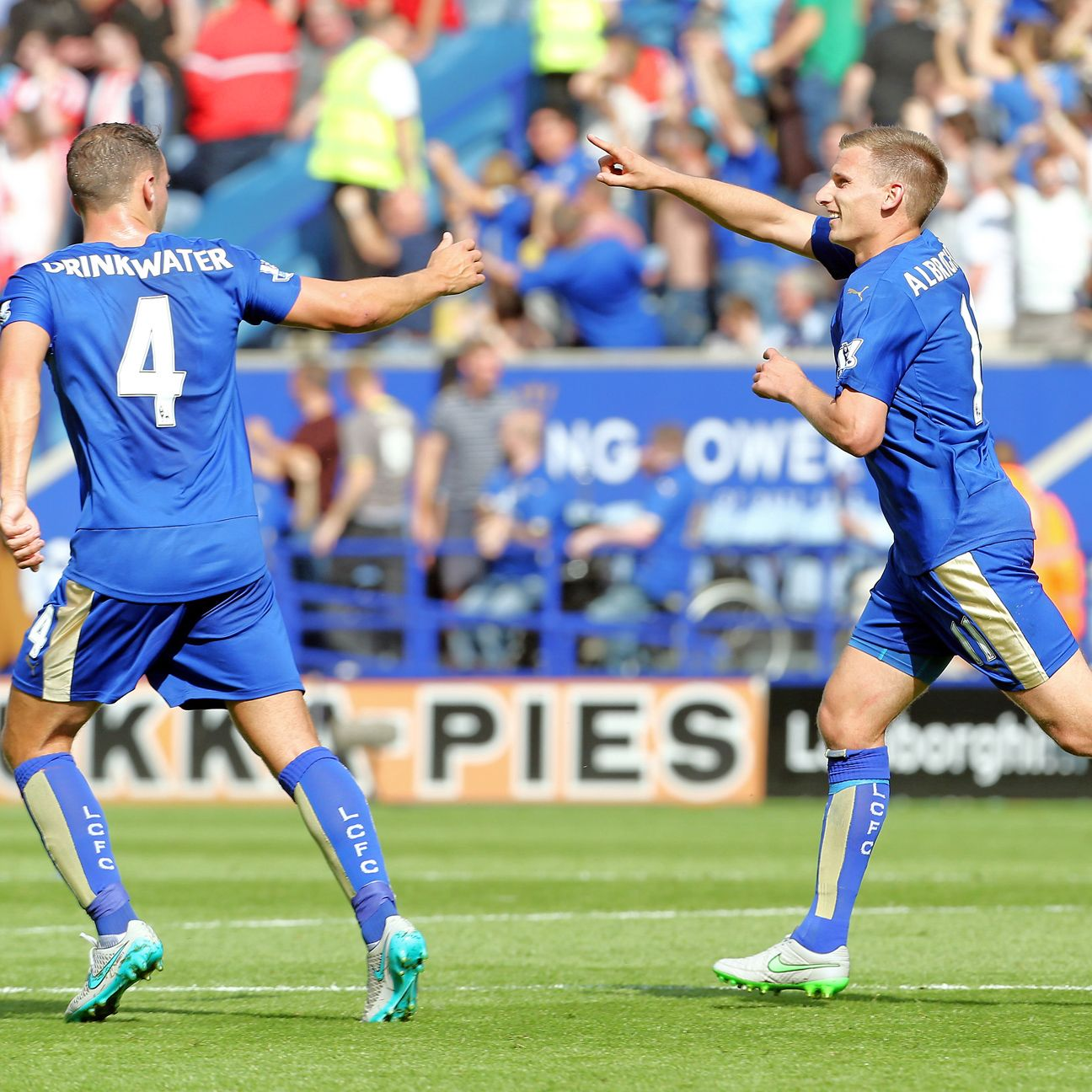 Marc Albrighton and Leicester City can make it six points from two matches with a victory at West Ham.