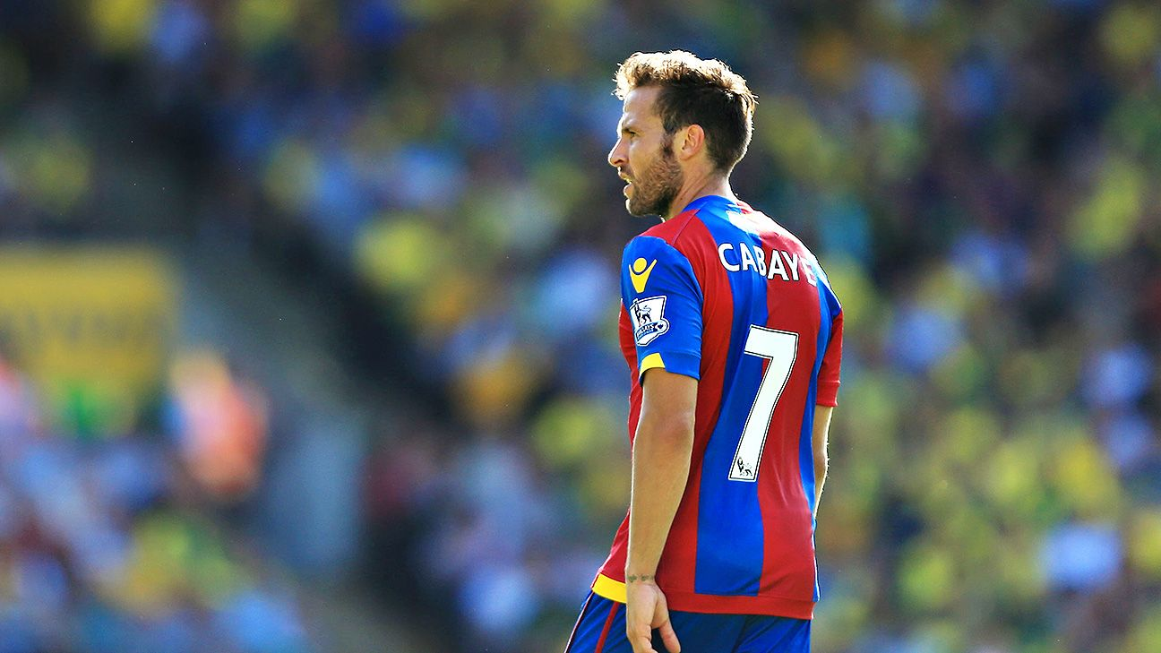 Yohan Cabaye and Crystal Palace are off to winning start in 2015-16.