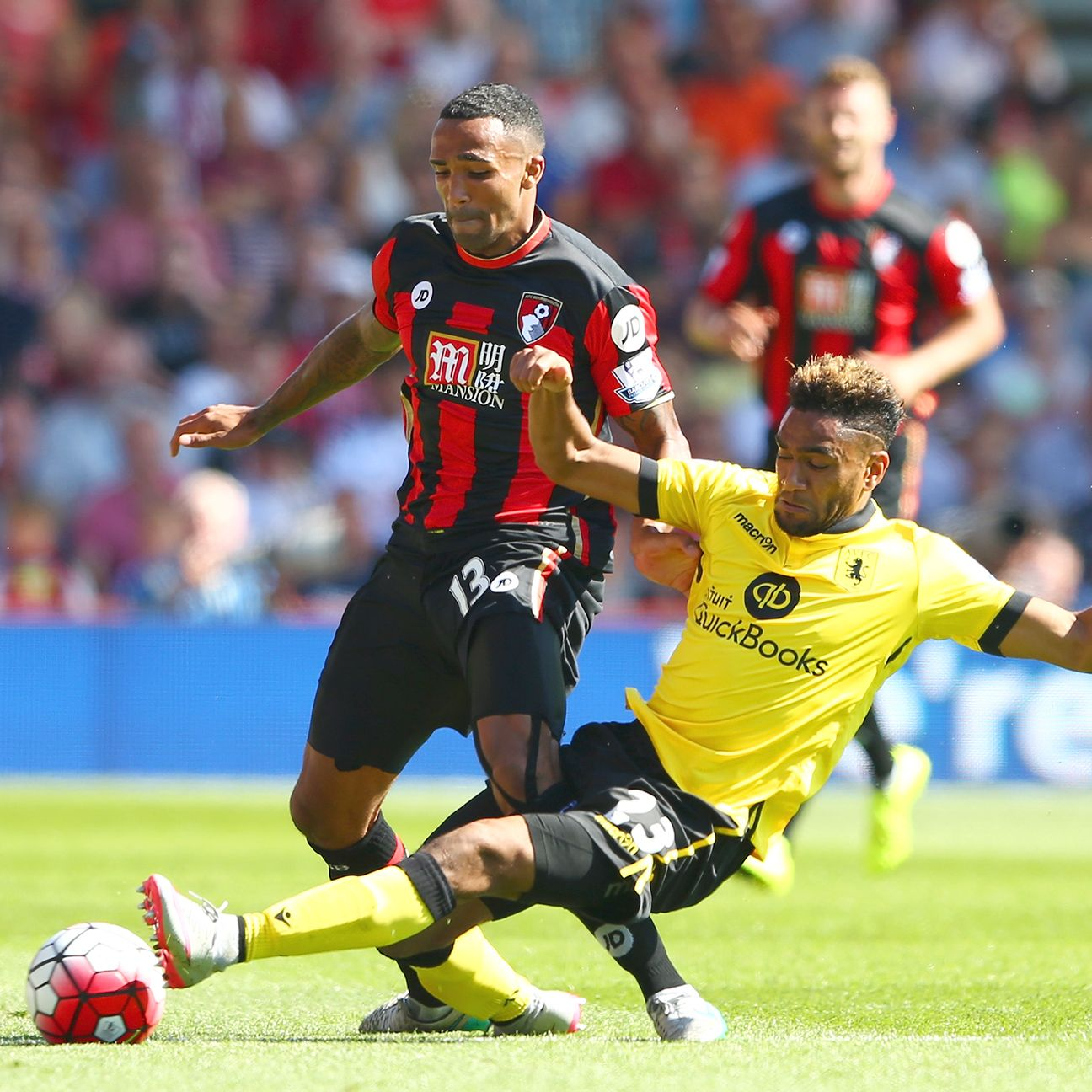 Callum Wilson and Bournemouth had their chances, particularly in the first half, against Aston Villa.