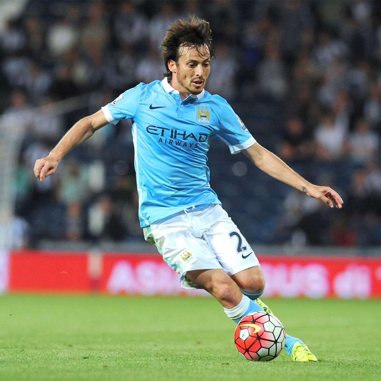 David Silva has provided a major spark in Manchester City's attack so far this season.