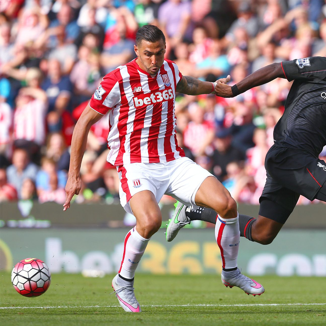 Geoff Cameron managed to contain Liverpool striker Christian Benteke in Stoke's Premier League opener.
