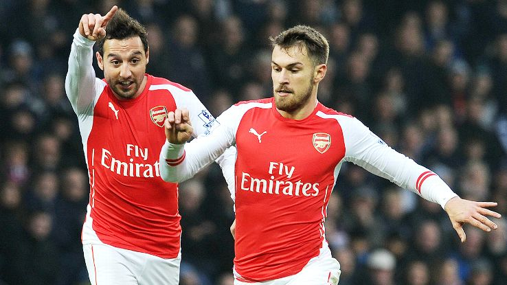 Arsenal's lack of versatility and width has often made for a crowded central midfield.