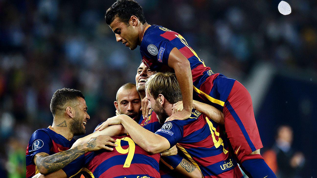 Barcelona shed summer fatigue to win UEFA Super Cup in impressive fashion