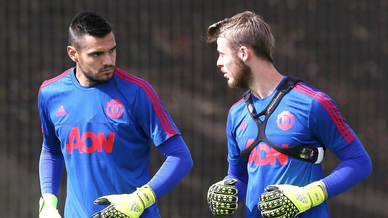 Image result for de gea and romero