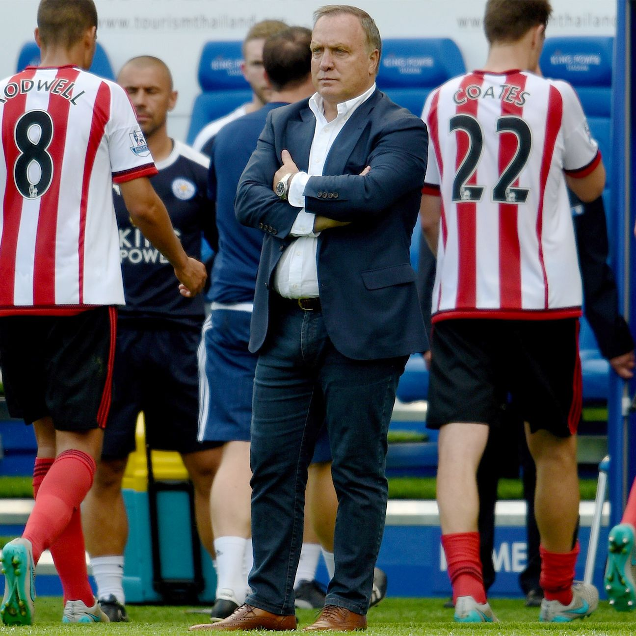 After allowing four goals on opening day, Sunderland boss Dick Advocaat will be looking for a better performance from his defence against Norwich.