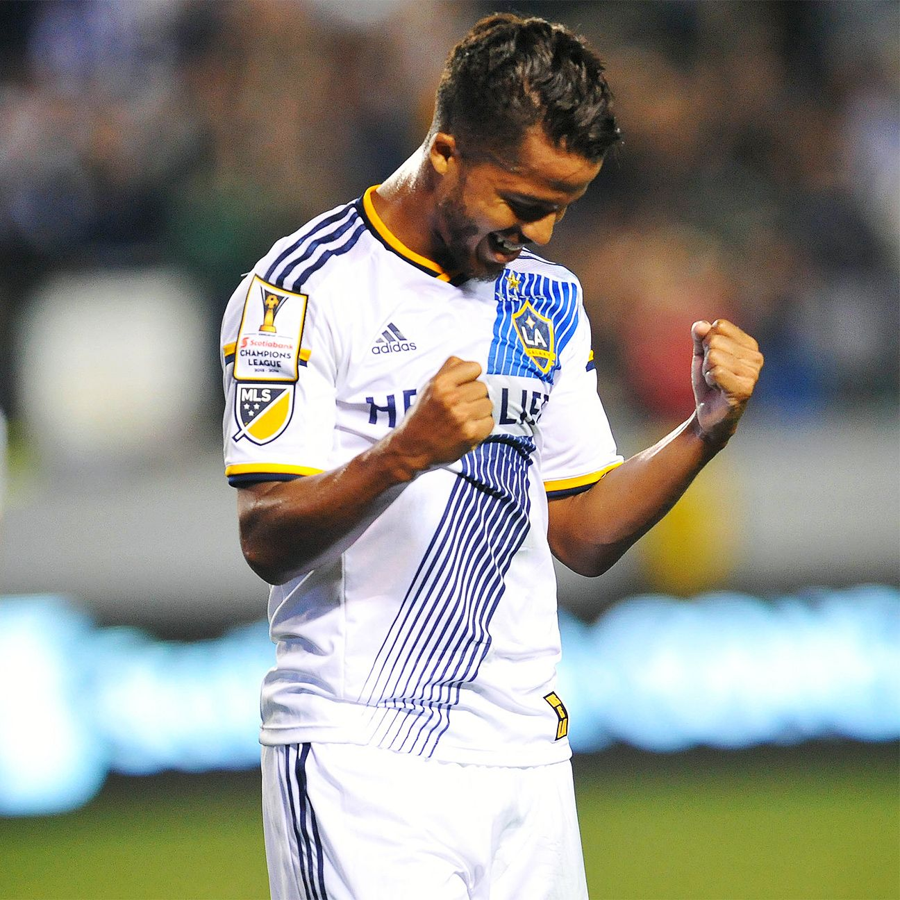 The L.A. Galaxy are undefeated since Giovani dos Santos' arrival to the club.