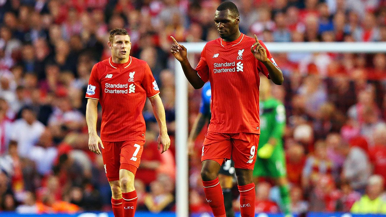 Christian Benteke first Liverpool goal secures narrow win ESPN FC