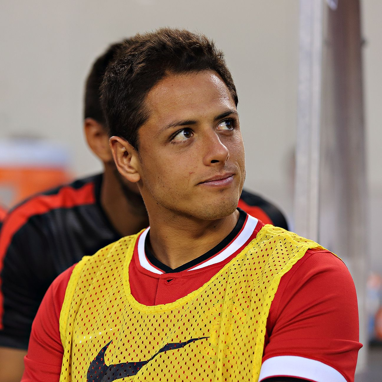 Chicharito Hernandez's 2015-16 season thus far at Manchester United has largely consisted of sitting on the bench.