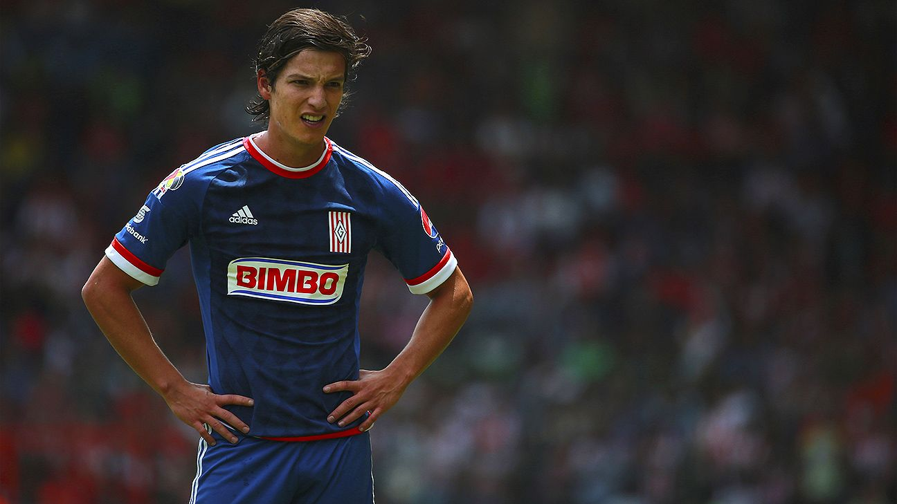The 2015 Apertura is currently looking bleak for Carlos Fierro and Chivas.