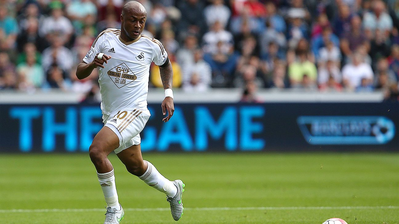 Andre Ayew will be looking to make it three goals in three games in Swansea's visit to Sunderland.