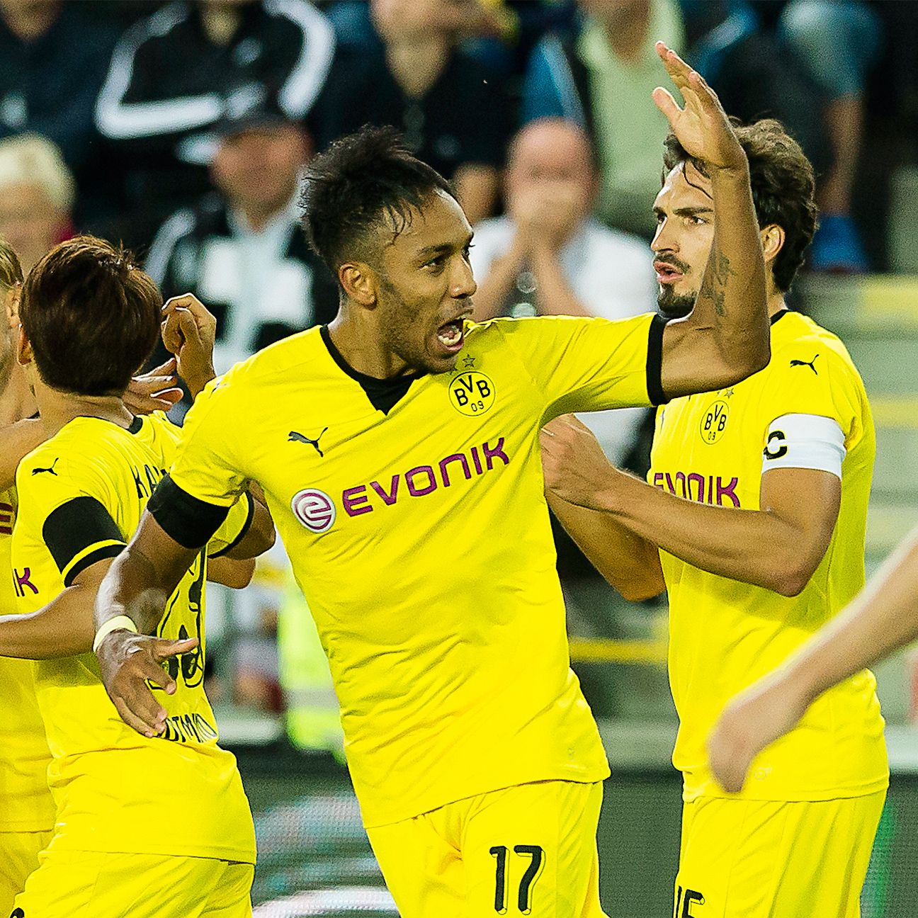 Borussia Dortmund are seeking a return to a European final.