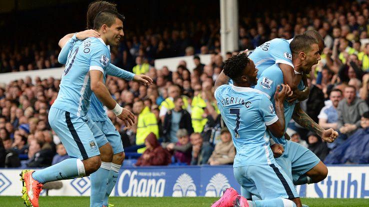 Manchester City Everton