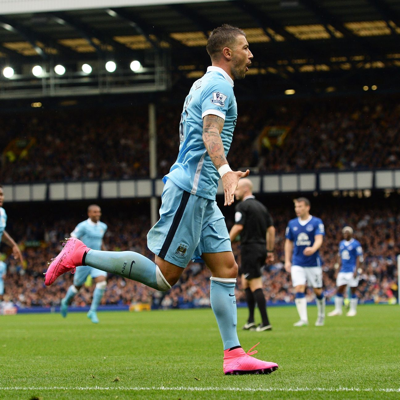 Aleksandar Kolarov has contributed in both defence and attack during Manchester City's sizzling start.