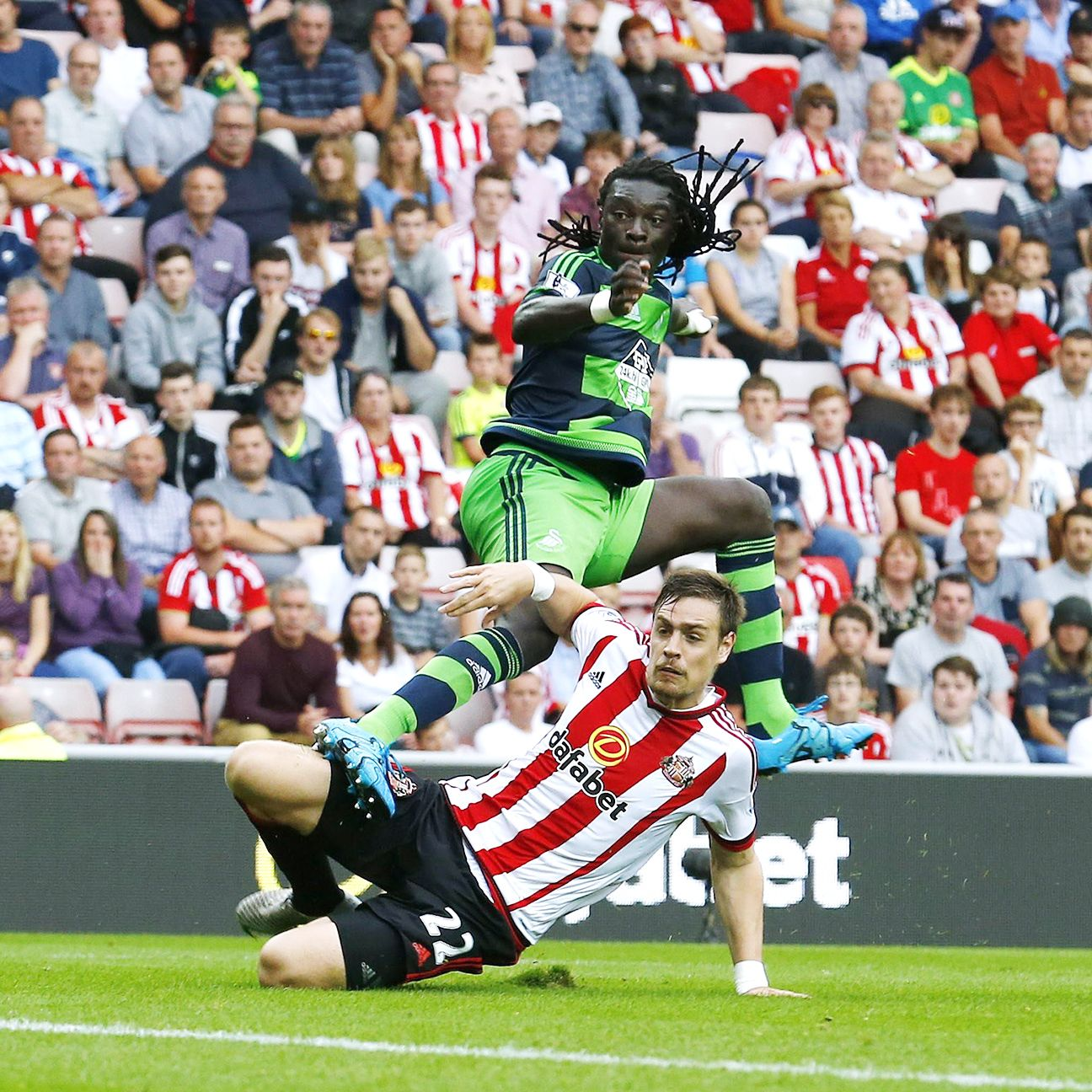 Bafetimbi Gomis and the rest of the Swansea attack have not been shy about shooting thus far this season.