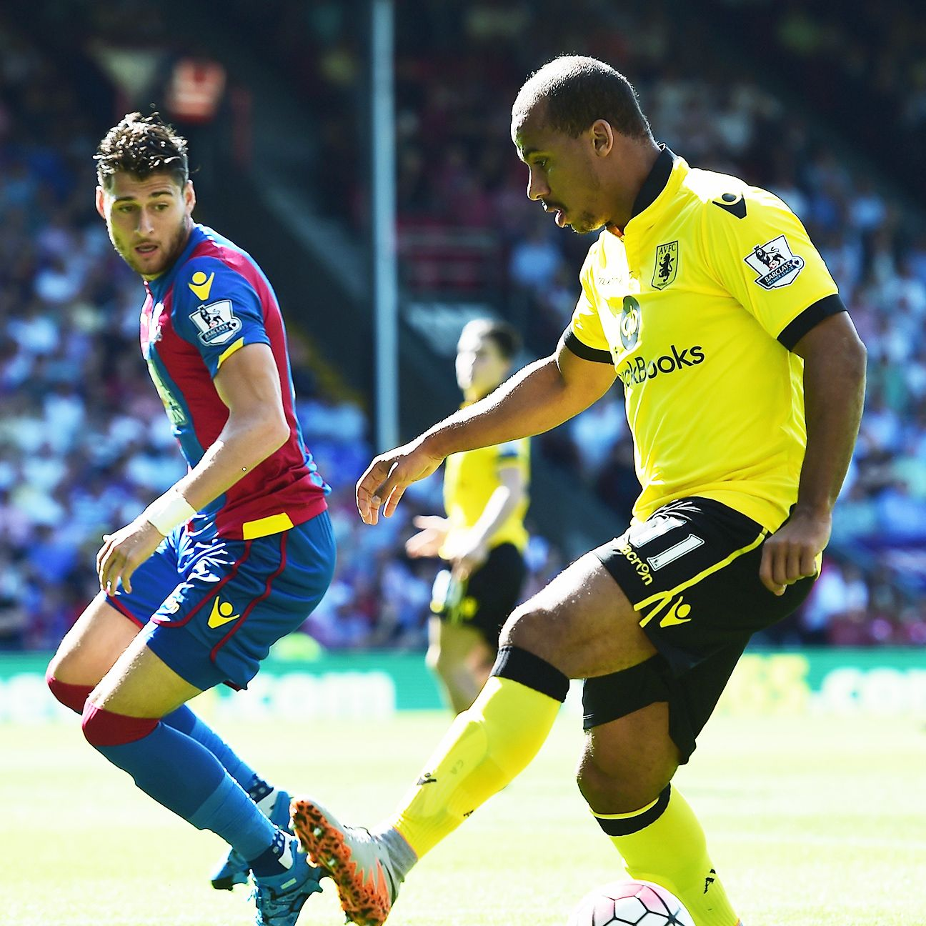 Gabriel Agbonlahor is off to an inauspicious start for Aston Villa.