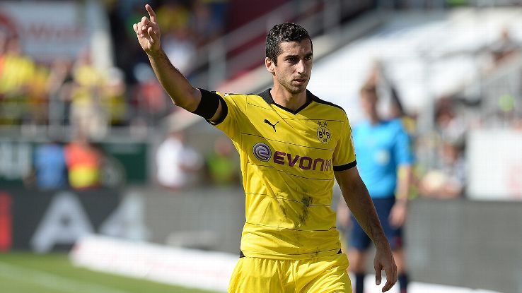 Henrikh Mkhitaryan and Dortmund are off to a quick start in 2015-16.
