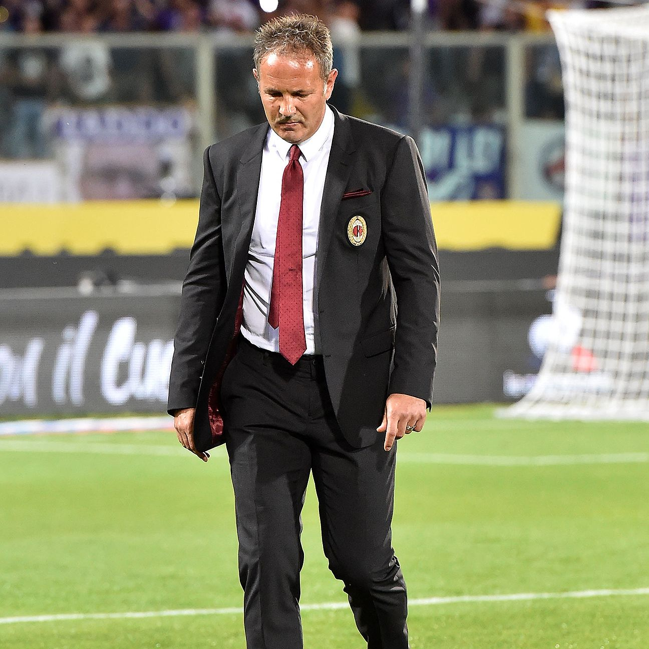 Sinisa Mihajlovic's AC Milan are currently seventh in the Serie A table.