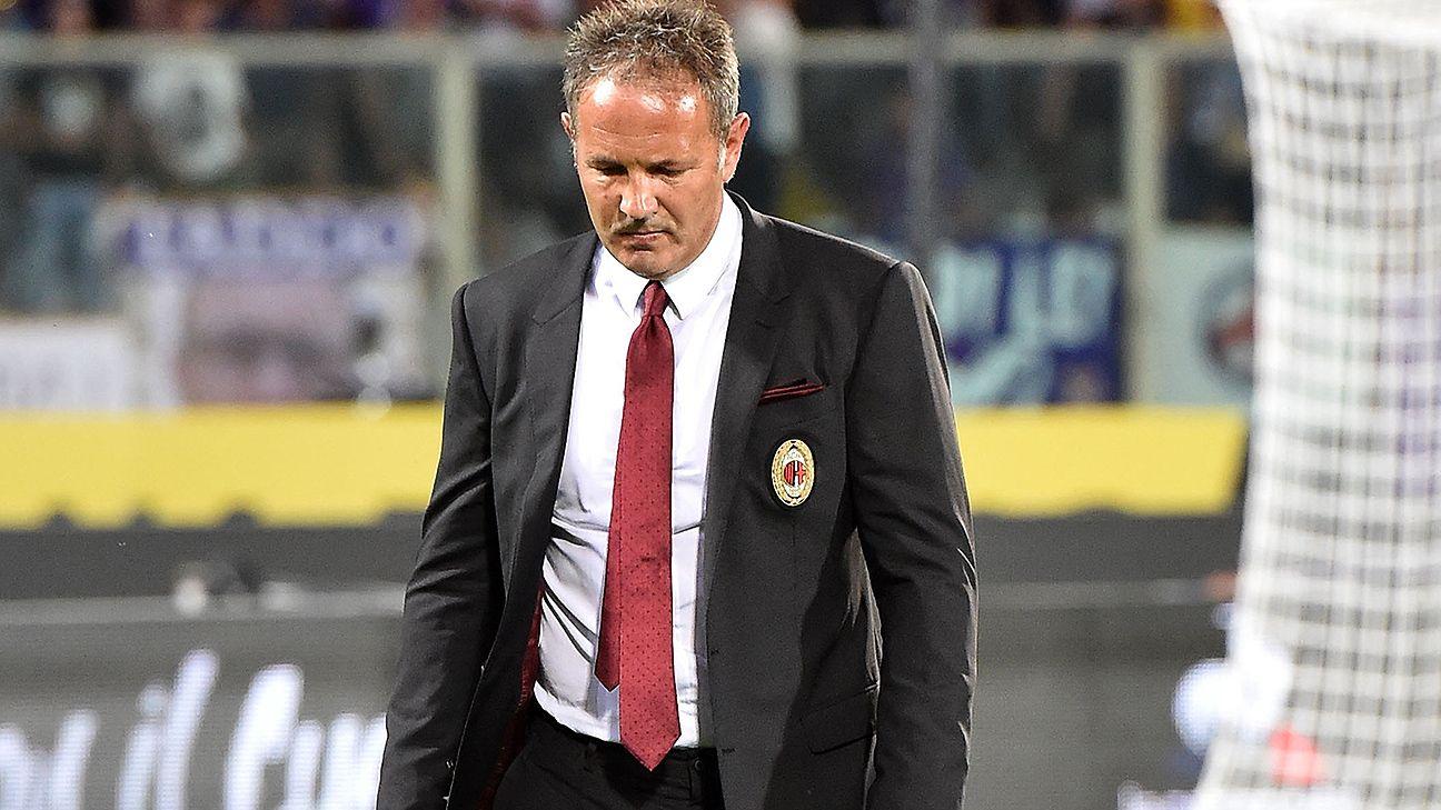 The Sinisa Mihajlovic era at AC Milan got off to a dismal start with a 2-0 loss at Fiorentina.