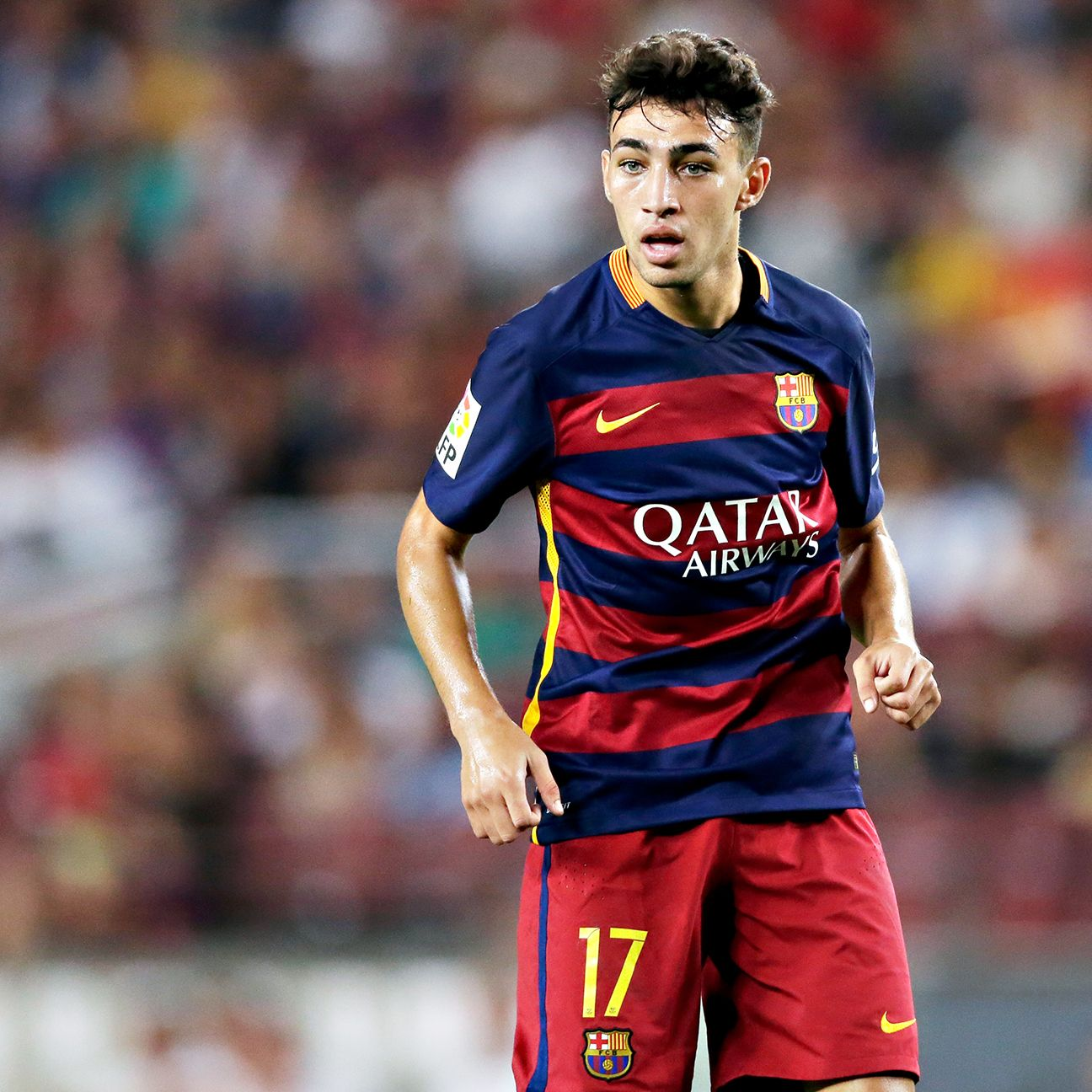 After featuring for Barcelona early in 2014-15, Munir's first team appearances have been few and far between.