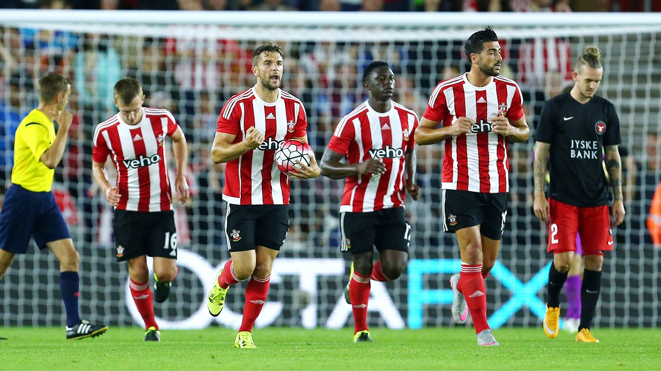Southampton will be looking to extend their European campaign with a win in Denmark on Thursday.