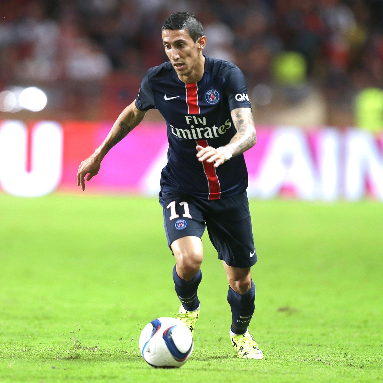 Angel Di Maria will get his first chance to impress the home fans when PSG host Bordeaux.