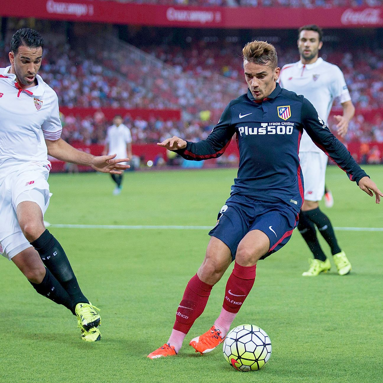 Antoine Griezmann's class proved decisive in Atletico's favour against Sevilla.