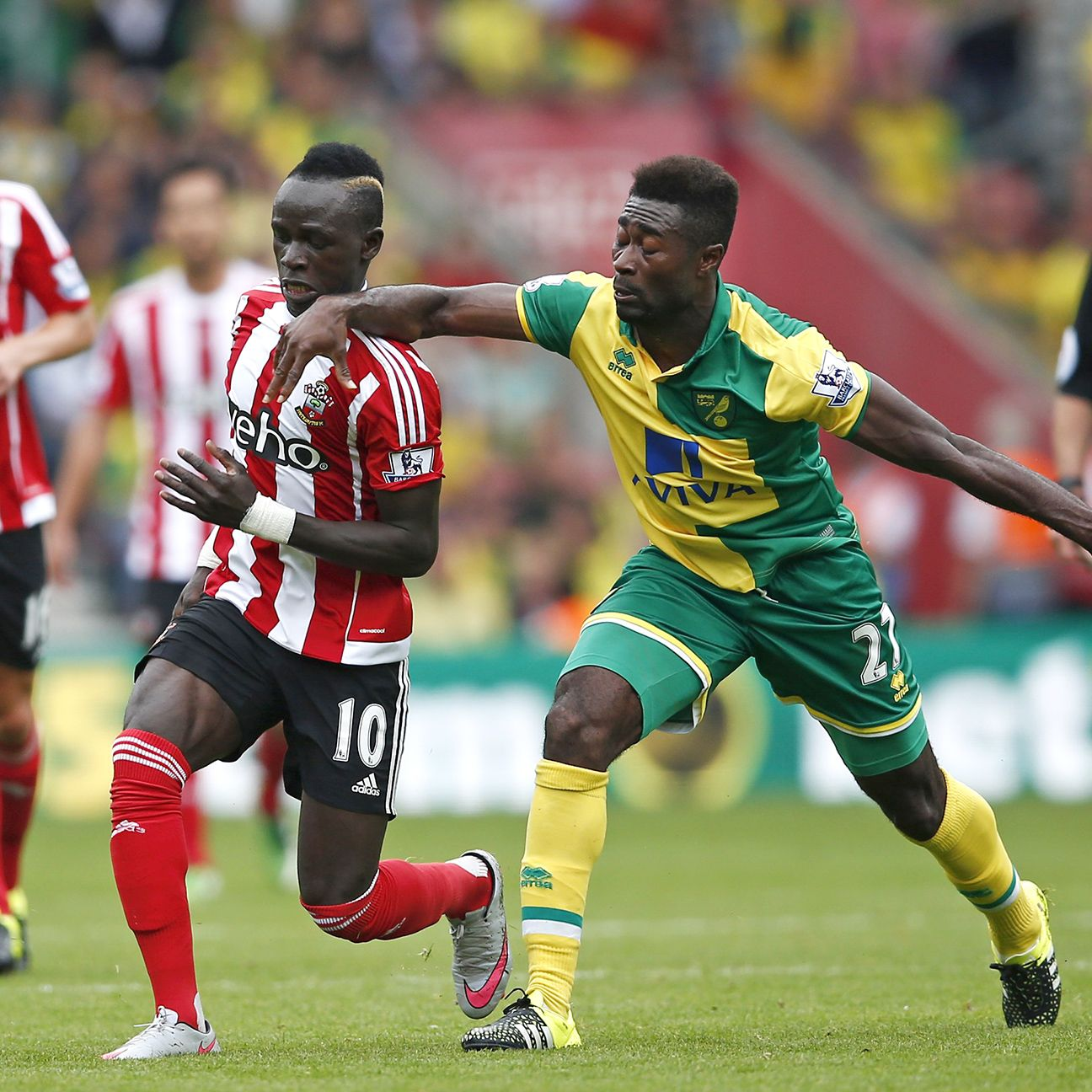 Southampton were a step ahead of Norwich in every phase on Sunday at St Mary's.