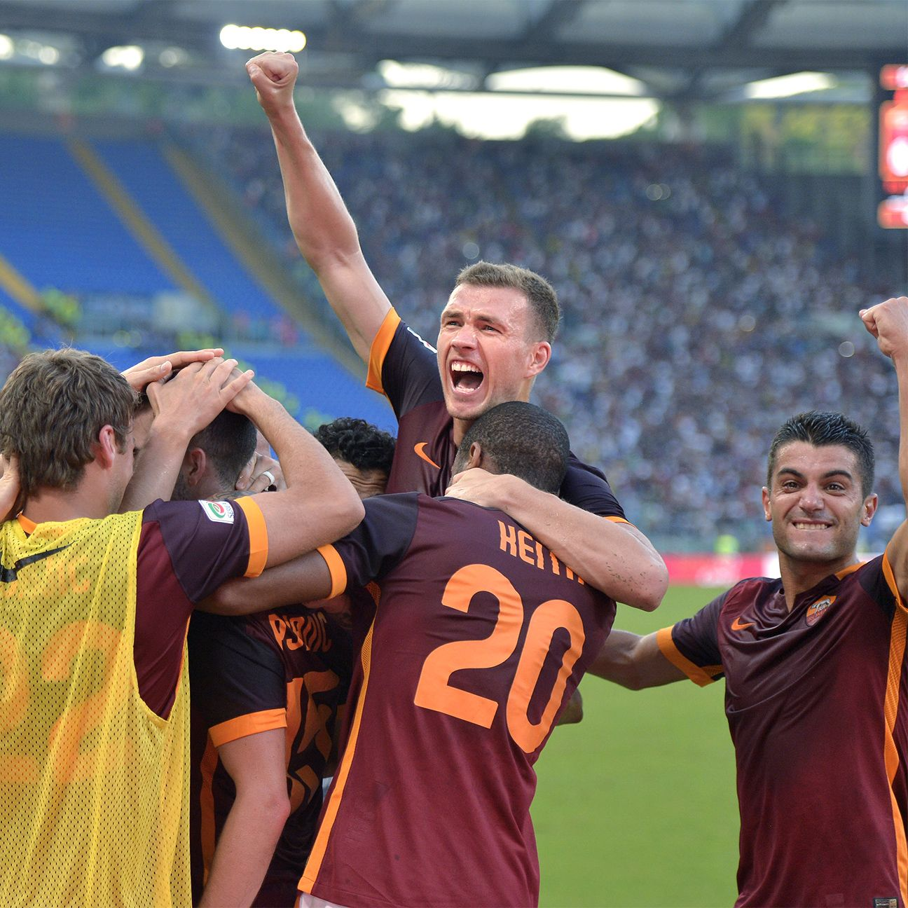 New arrival Edin Dzeko has Roma dreaming of domestic greatness.