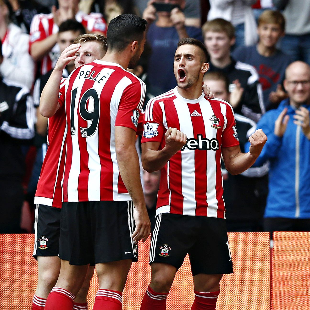 Dusan Tadic had plenty to shout about in Southampton's 3-0 victory versus Norwich City.