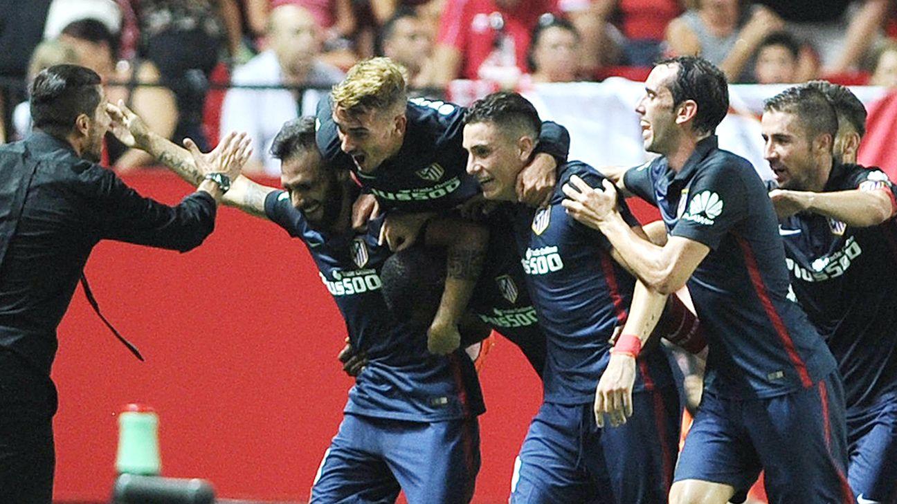 Diego Simeone once again has Atletico Madrid poised for a La Liga title run.