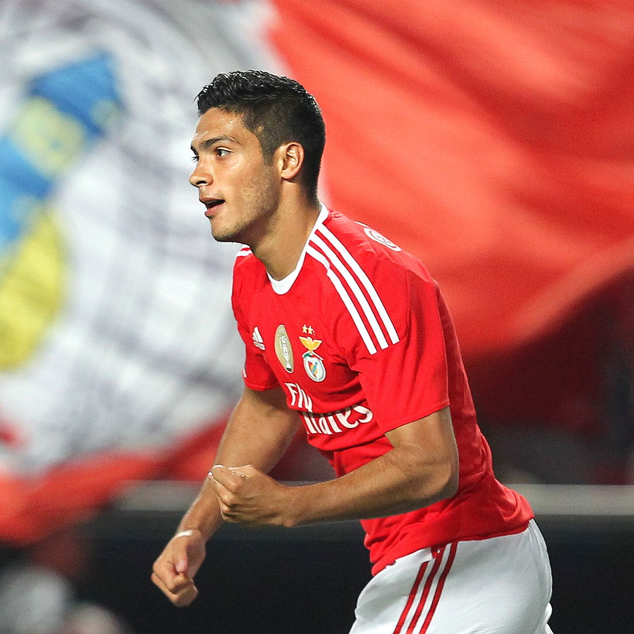 After a frustrating 2014-15 at Atletico Madrid, Raul Jimenez is off to a good start in 2015-16 with Benfica.
