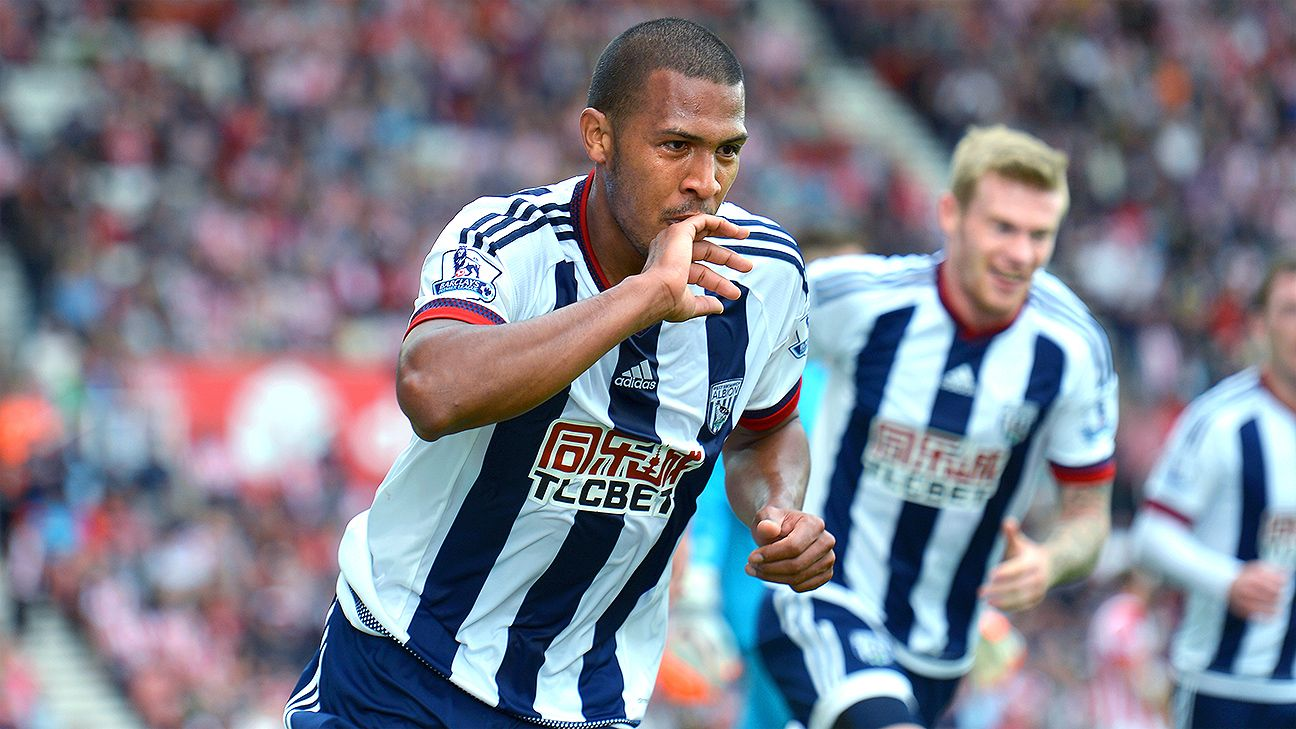 Salomon Rondon's goal was the lone West Brom score against a Stoke City side playing with nine men.