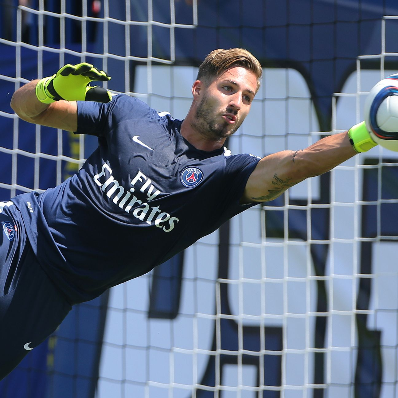 Kevin Trapp has started every match for PSG this season.