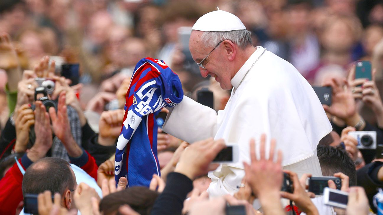 Pope Francis is confident that his beloved San Lorenzo will come through with all three points on Sunday in La Bombonera.