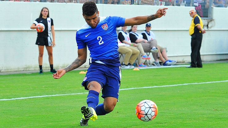 DeAndre Yedlin could be the midfielder on the outside looking in come the start of Tuesday's match against Brazil.
