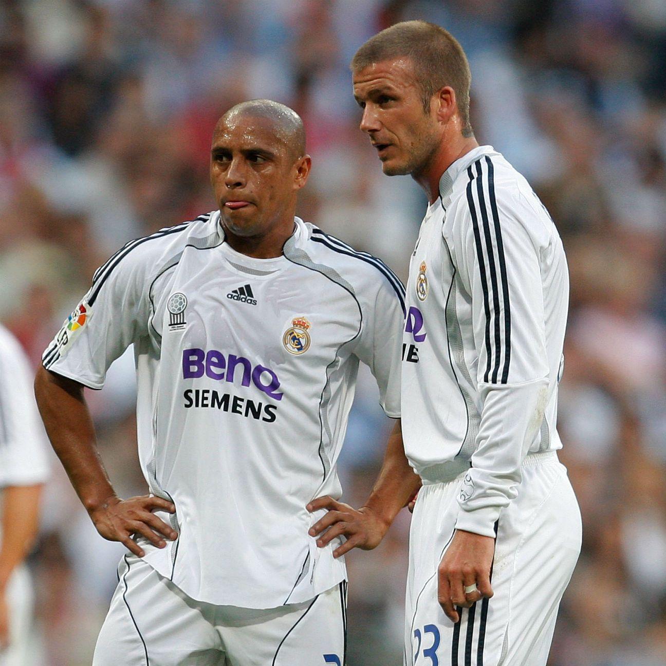 Roberto Carlos: David Beckham Better At Free Kicks Than Me