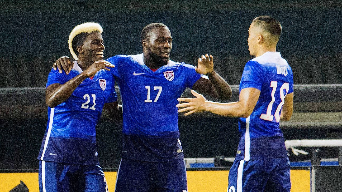 Gyasi Zardes, Jozy Altidore and Bobby Wood all figure to play a prominent role in the U.S. attack in 2018.