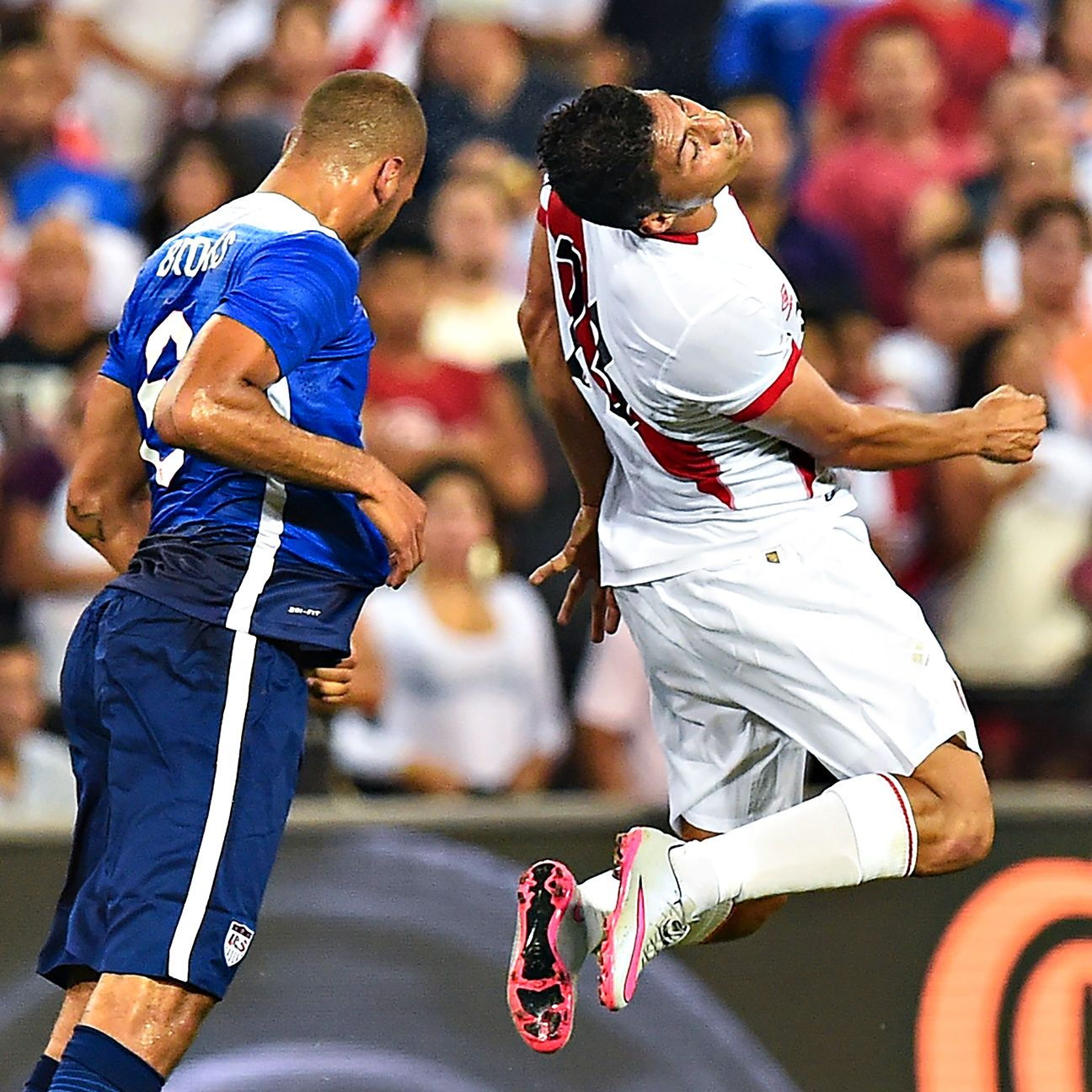 John Brooks put in a solid shift at center back for the U.S.