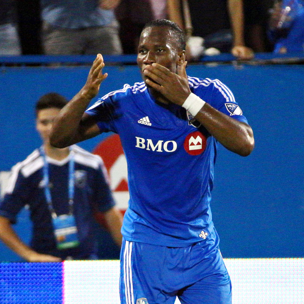 New arrival Didier Drogba has already tallied nine times in eight matches for Montreal.
