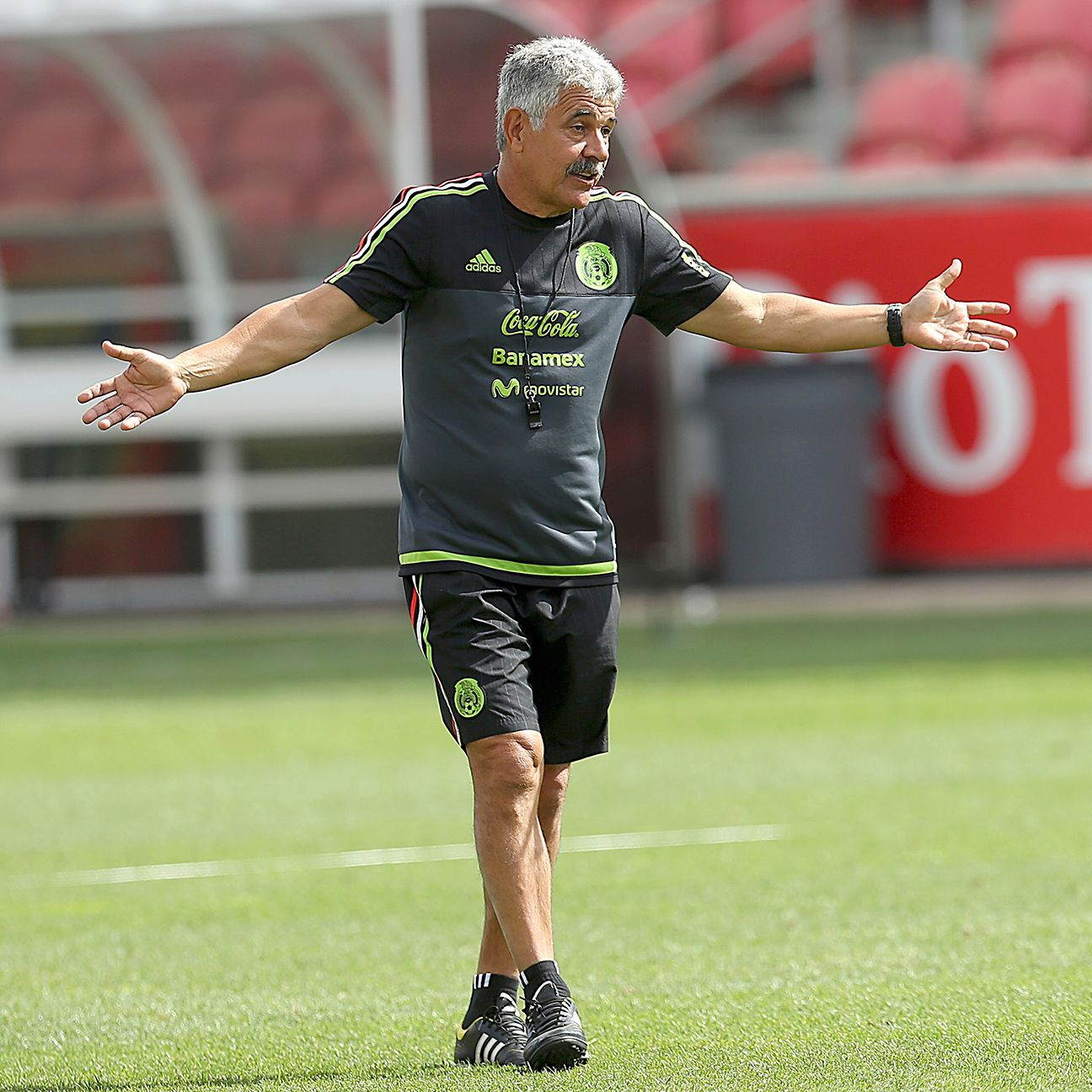 Mexico fans hope interim coach Ricardo Ferretti can deliver a win on Saturday.