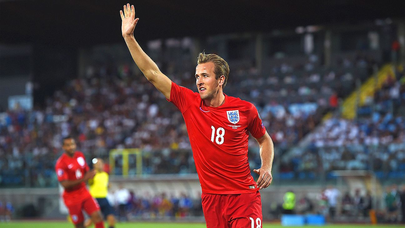 Could Harry Kane come close to matching Wayne Rooney's record goal tally for England?