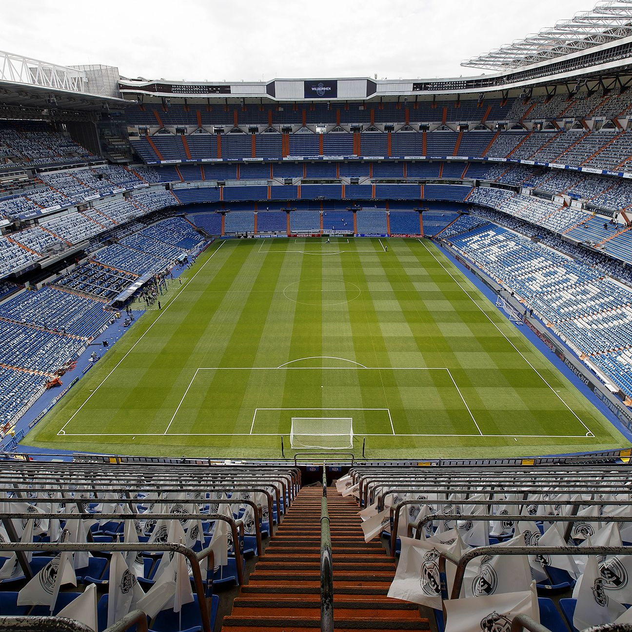 A spectator would be hard-pressed to find a bad seat at the Bernabeu.